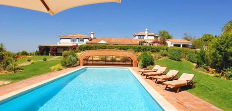 Ferienhaus Algarve Malhao 9992 mit Pool und Internet für 10-16 Personen. Wechseltag Samstag.