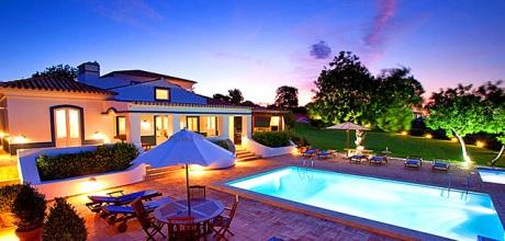 Algarve Ferienhaus Malhao 5988 mit beheizbarem Pool und Kinderpool. Wechseltag Samstag.