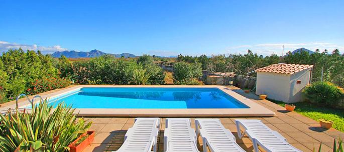 Ferienhaus Mallorca mit Pool MA2150