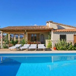 Ferienhaus Mallorca MA2150 - Pool und Haus