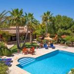 Ferienhaus Mallorca MA2210 - Poolterrasse mit Liegen