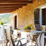 Ferienhaus Mallorca MA2300 überdachte Terrasse