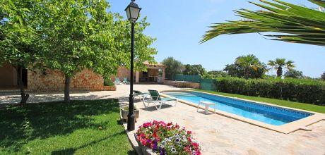 Mallorca Südostküste – Ferienhaus Cala D'Or 2310 mit Pool, Grundstück 600qm, Wohnfläche 80qm. Wechseltag Samstag, Nebensaison flexibel – Mindestmietzeit 1 Woche