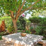 Ferienhaus Mallorca MA2310 Gartenmöbel auf der Terrasse