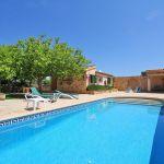 Ferienhaus Mallorca MA2310 Sonnenliegen am Pool