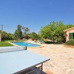 Ferienhaus Mallorca MA2310 Tischtennisplatte auf der Terrasse
