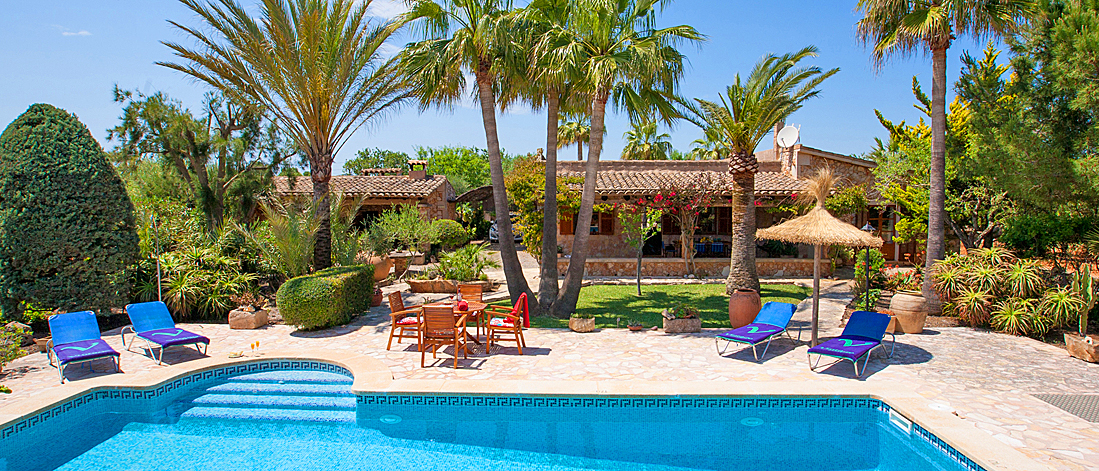 Ferienhaus Mallorca mit Pool MA2210