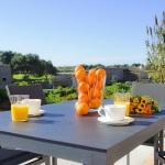 Luxus-Ferienhaus Mallorca MA2301 Gartentisch