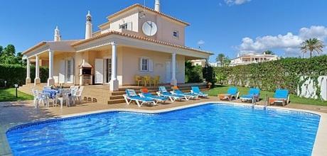 Ferienhaus Algarve Albufeira 4064 mit Pool für 8 Personen, Strand 1,8km. Wechseltag Samstag.