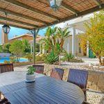 Ferienhaus Algarve ALS4065 überdachte Terrasse