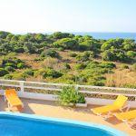 Ferienhaus Algarve ALS4603 Meerblick vom Balkon