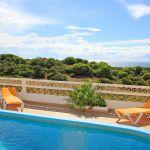 Ferienhaus Algarve ALS4603 Meerblick vom Pool