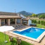 Ferienhaus Mallorca 2026 Blick auf das Grundstück