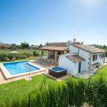 Ferienhaus Mallorca 2026 Garten mit Pool