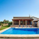 Ferienhaus Mallorca 2026 Gartenmöbel am Pool