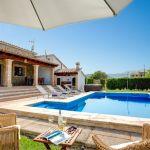 Ferienhaus Mallorca 2026 Poolbereich