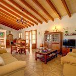 Ferienhaus Mallorca 2026 Wohnbereich