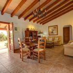 Ferienhaus Mallorca 2026 Wohnraum