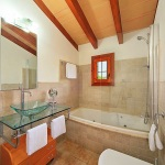 Ferienhaus Mallorca MA2026 - Bad mit Wanne