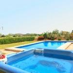 Ferienhaus Mallorca MA2026 - Garten mit Pool und Whirlpool