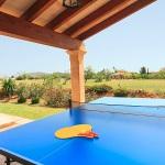 Ferienhaus Mallorca MA2026 - Tischtennisplatte