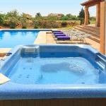 Ferienhaus Mallorca MA2026 - beheizter Whirlpool im Garten
