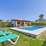 Ferienhaus Mallorca MA2090 Liegen am Pool