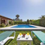 Ferienhaus Mallorca MA2090 Sonnenliegen am Pool