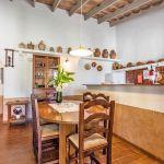 Ferienhaus Mallorca MA2110 Küche mit Esstisch