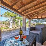 Ferienhaus Mallorca MA2110 Sitzgarnitur auf der Terrasse