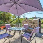 Ferienhaus Mallorca MA2110 Terrasse mit Gartenmöbel