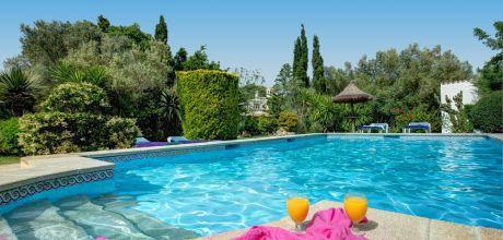 Mallorca Nordküste – Ferienhaus Pollensa 2280 mit Pool für 4 Personen mieten, Strand = 4km. An- und Abreisetag Samstag.