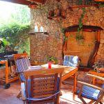 Ferienhaus Mallorca MA2286 überdachte Terrasse mit Grill