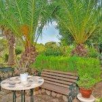 Ferienhaus Mallorca MA2287 Gartenmöbel auf Terrasse