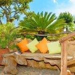 Ferienhaus Mallorca MA2287 Sitzbank im Garten