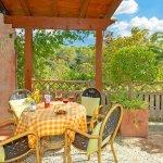 Ferienhaus Mallorca MA2287 Sitzecke auf der Terrasse