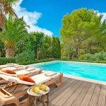 Ferienhaus Mallorca MA2287 Sonnenliegen am Pool