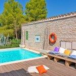 Ferienhaus Mallorca MA2287 Terrasse am Pool