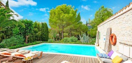 Mallorca Südküste – Ferienhaus Randa 2287 mit Pool und Flair nahe Palma in ruhiger Lage. Wechseltag Samstag – Mindestmietzeit 1 Woche