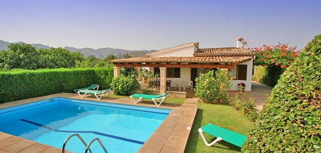 Mallorca Nordküste – Ferienhaus Pollensa 2090 mit Pool für 4 Personen mieten, Strand 3,5 km. Wechseltag flexibel – Mindestmietzeit 1 Woche