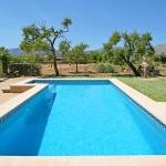 Ferienhaus Pollensa 2110 - Blick über den Pool