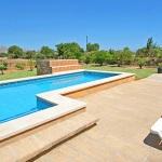 Ferienhaus Pollensa 2110 - Liegen am Pool