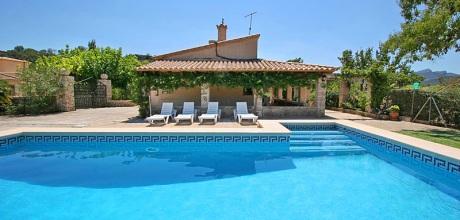 Mallorca Nordküste – Ferienhaus Pollensa 2110 mit Pool, Strand 4,5km. Wechseltag Samstag, Nebensaison flexibel – Mindestmietzeit 1 Woche