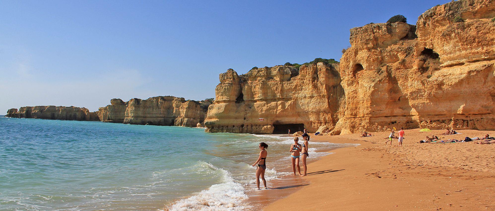 Praia da Coelha - Strand von Coelha 18