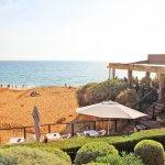 Praia da Coelha - Strand von Coelha Restaurant Esprit Villas Touristik