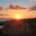 Praia da Coelha - Strand von Coelha Sonnenuntergang 1 Esprit Villas Touristik