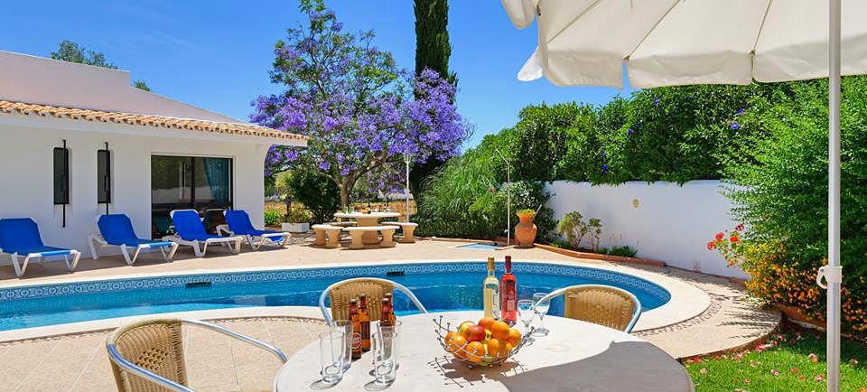 Ferienhaus algarve vale de parra 4002 mit beheizbarem pool for Garten pool 4m durchmesser