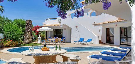 Ferienhaus Algarve Vale de Parra 4002 mit beheizbarem Pool mieten, Strand 1,8km. Wechseltag Samstag.