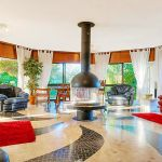 Villa Algarve ALS4002 Wohnraum mit Kamin