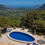 Ferienhaus Mallorca MA2259 - Blick über den Pool